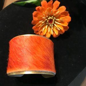 Pony Hair Cuff Bracelet